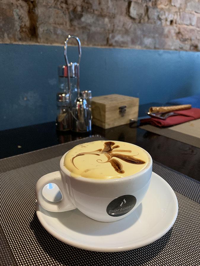 Hanoi - Café con huevo