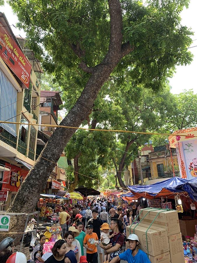 Hanoi - Mercado callejero
