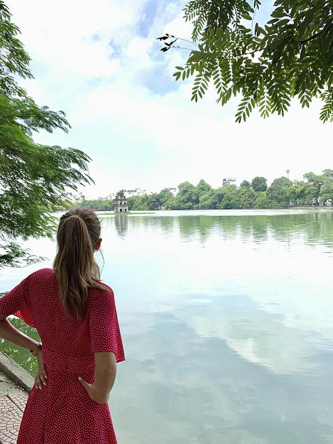 Hanoi - Lago Hoan Kiem