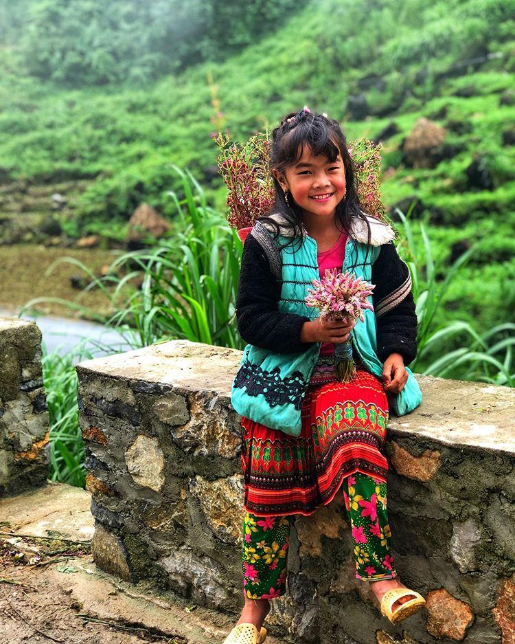 Niña Hmong en Viewpoint