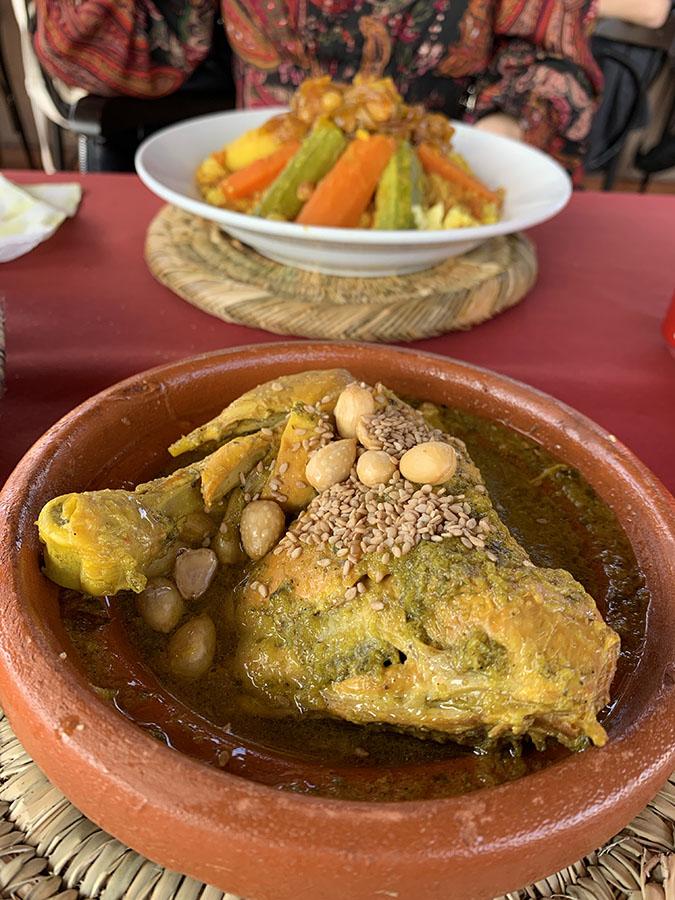 Le table de Marrakech
