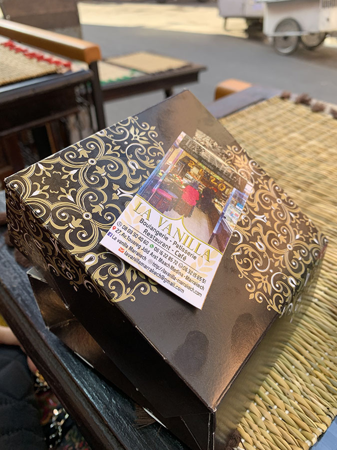 Marrakech - La Vanilla patisserie and cafe