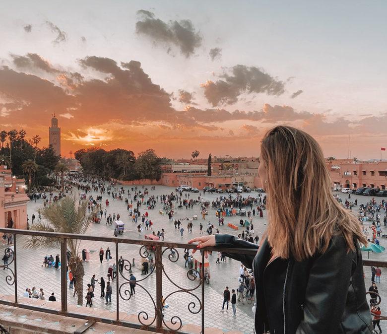 Marrakech - Plaza Jemma el Fna