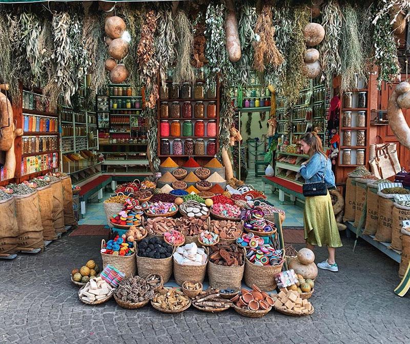 Marrakech - Plaza de las especias