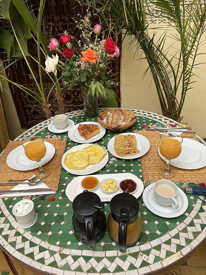 Riad Amiris - Desayuno