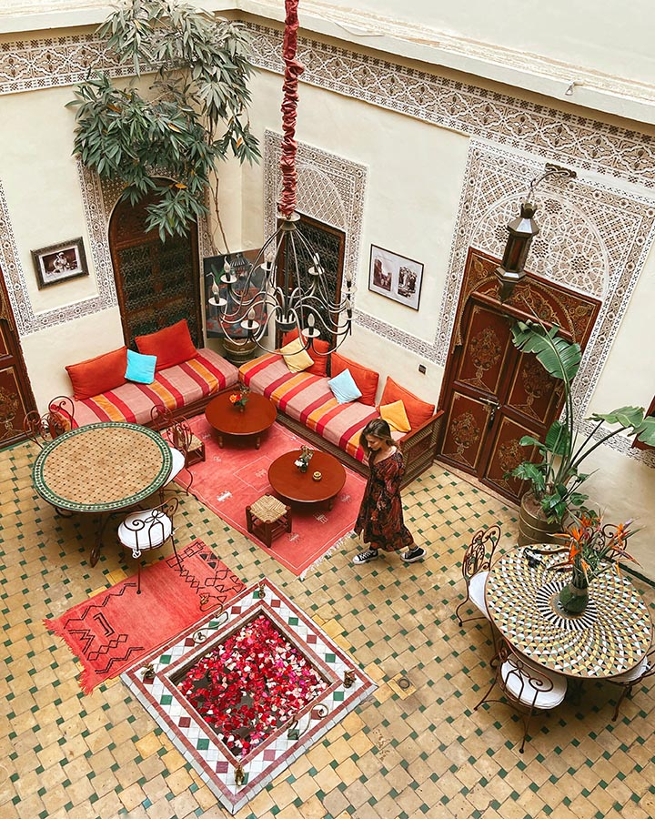 Riad Amiris - Patio
