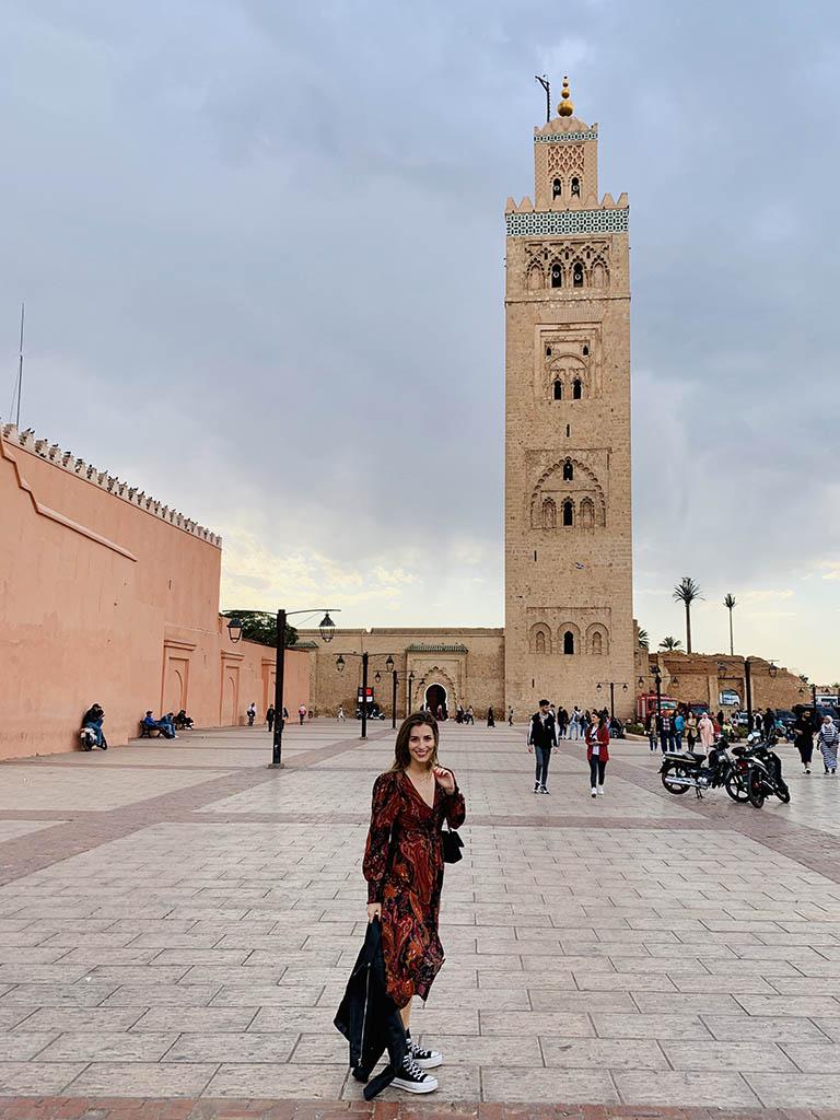 Marrakech - Mezquita Koutoubia