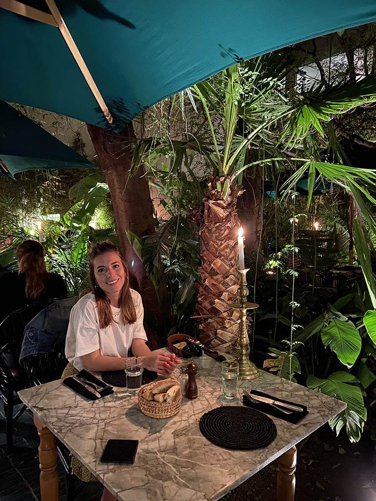 Marrakech - Restaurante Le Jardin