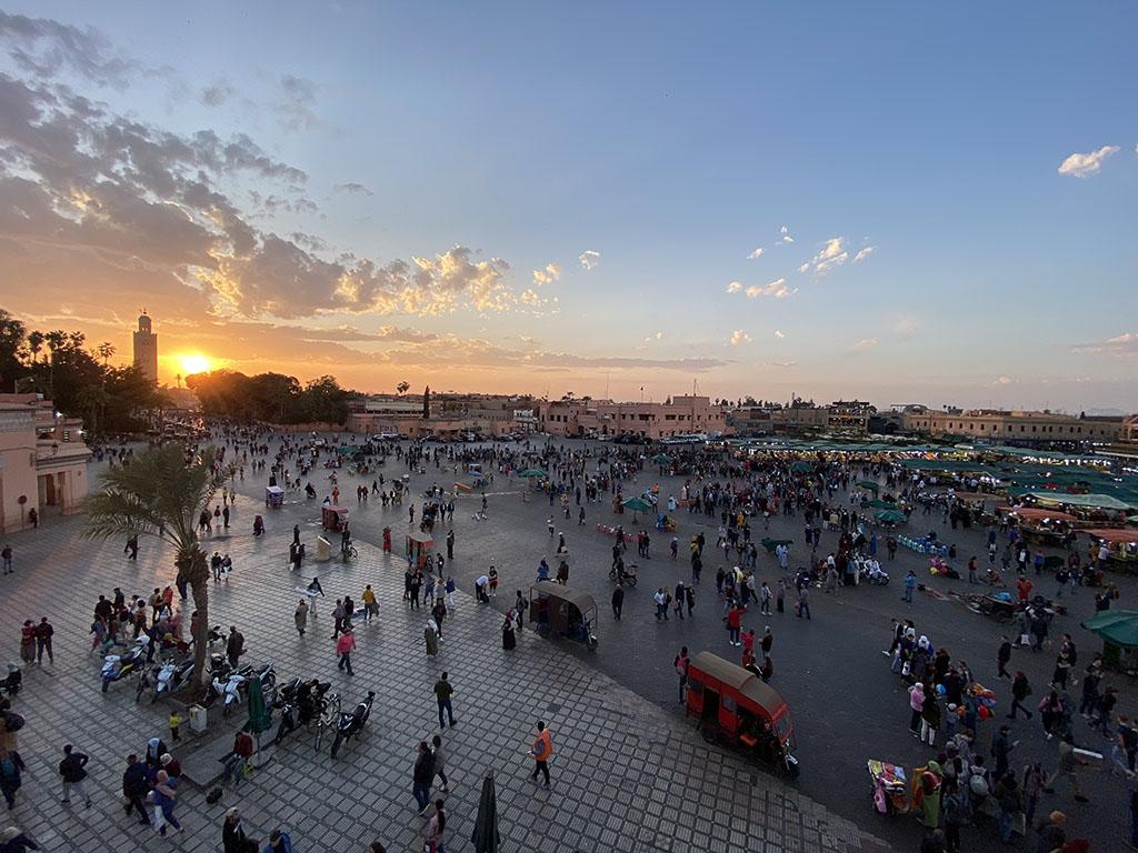 Marrakech - Plaza Jemaa el Fna